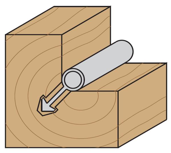 Frese per sede guarnizioni e serramenti pagin utensili - Guarnizioni per finestre ...