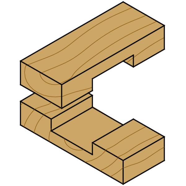 Frese a taglienti diritti per canali serie corta pagin for Hobby del legno