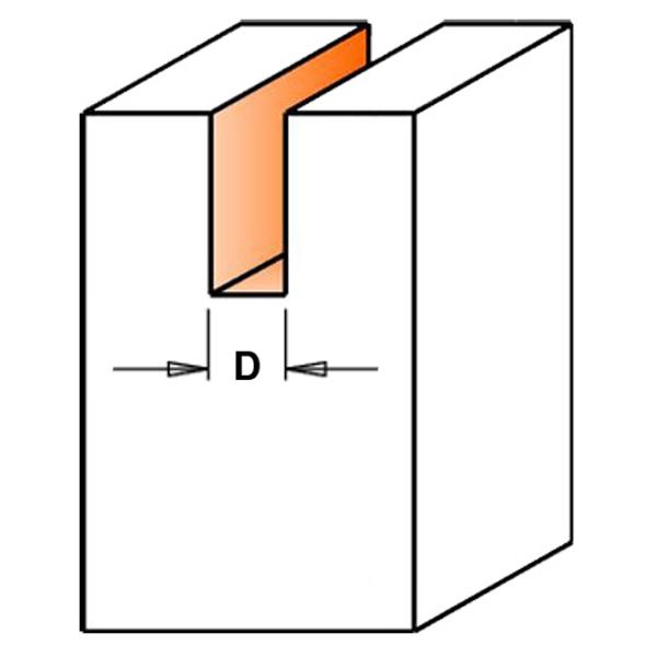 Fresa a taglienti diritti per sede guarnizioni per serramenti pagin utensili - Guarnizioni per porte e finestre ...